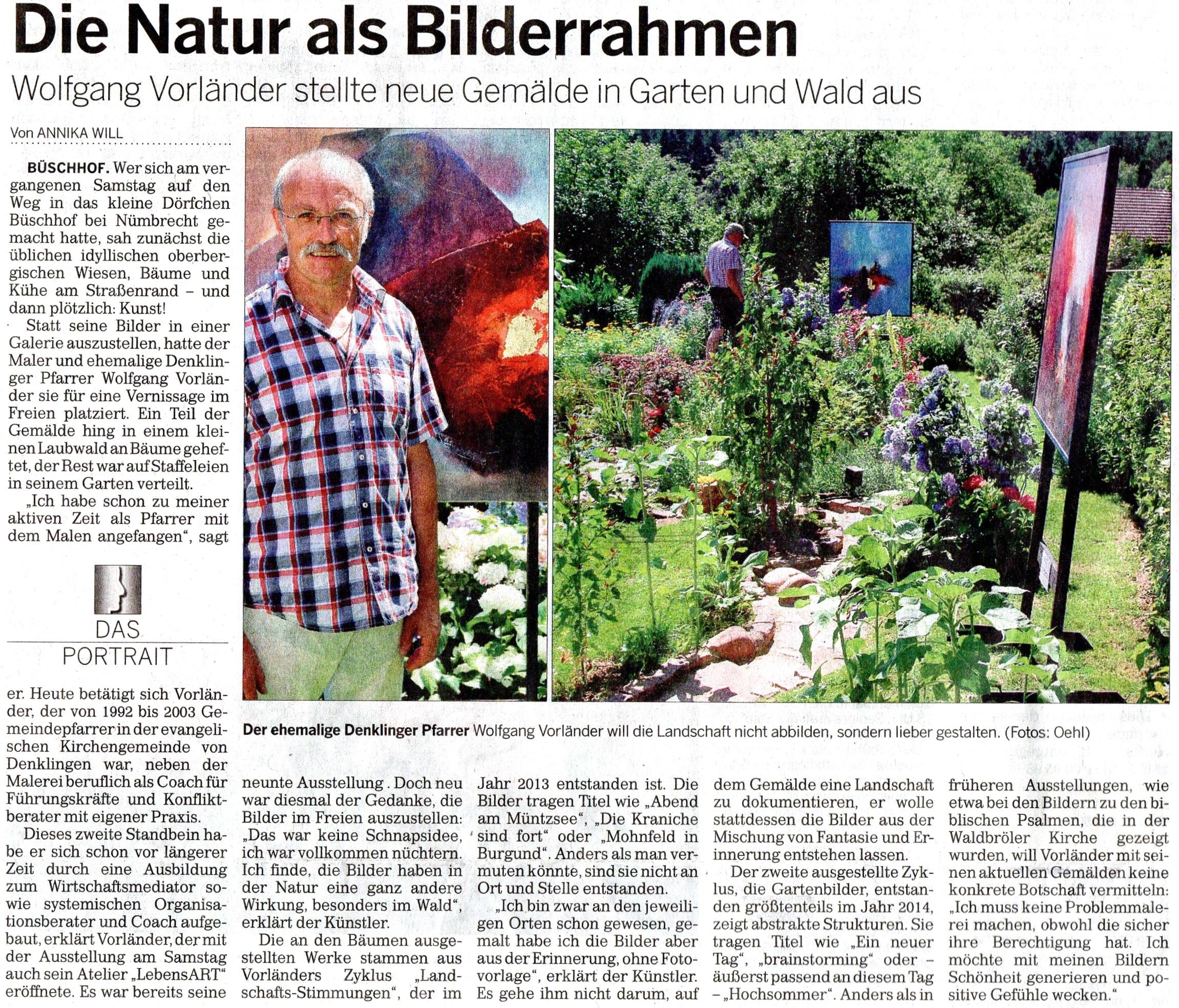 Aus dem Kölner Stadt-Anzeiger vom 24.07.2014